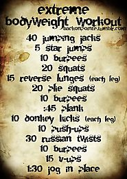 Extreme Bodyweight Workout