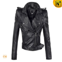 Cropped Moto Jacket Women CW618101 - cwmalls.com