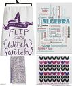 Lovely Purple Kitchen Tea Towels for your Kitchen Decor