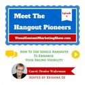 How to Use Google Hangouts on Air to Boost Your Visibility - video