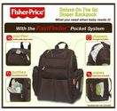 Fisher-Price FastFinder Diaper Backpack with Locket Feature