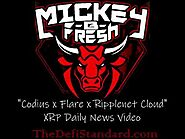 """Codius x Flare x Ripplenet Cloud"" Mickey B. Fresh, xrp, flare, flare finance, ripple, defi, spark"