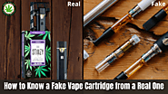 Find Fake Vape Cartridge from a Real One