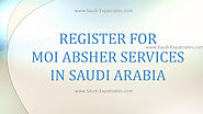 REGISTER FOR MOI SERVICES ABSHIR