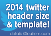 New 2014 Twitter Design, Header Size, and Free Template