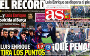 David Moyes' Real Sociedad defeat Barcelona 1-0: Spanish newspaper reaction after Sunday's shock win - Telegraph