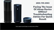 Why Does My Alexa Goes Offline | Echo Dot Offline 1-8007956963 Alexa App Helpline