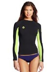Amazon Best Sellers: Best Women's Rash Guard Shirts