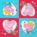 Peppa Pig Napkins - at PartyWorld Costume Shop