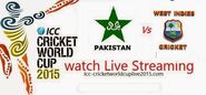Free online streaming of Pakistan vs West indies World Cup 2015