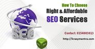 Selecting the Right SEO Services in Ahmedabad for Your Business Needs