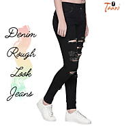 Get Denim Latest Rough Look Jeans Cheap Price