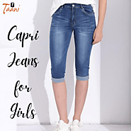 Top Capri Jeans for Girls in India