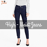 High Waist Jeans for Ladies and Girls in India