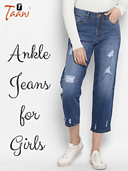 Top Ankle Jeans in India at Low Price