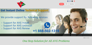 Get Online Technical Support for AVG Products