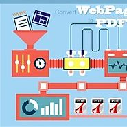 Save and Convert Webpages to PDF files and Give a Cutting Edge to Your...