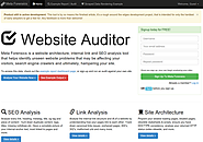 SEO and Site Architecture Tool