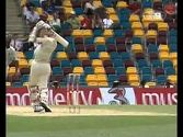 LONGEST SIX IN WORLD CRICKET HISTORY- BRETT LEE @ THE GABBA 2005 vs WEST INDIES