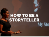 The Key to Motivational Speeches: 'Be a Storyteller'