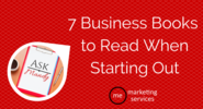 Ask Mandy: 7 Business Books to Read When Starting Out - ME Marketing Services, LLC
