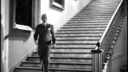James Cagney Tap Dancing Down the Staircase