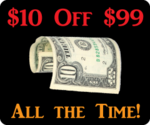 "$10 Off $99 - All the Time! "" PDResources"