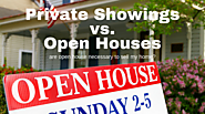 Open House vs Private Showings