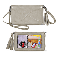 Save the Girls Touchscreen Purse