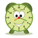 Tell Time - Little Matchups Game By GrasshopperApps.com