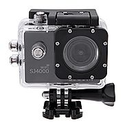 MeGooDo SJCAM Original SJ4000 WiFi Action Camera 12MP 1080P H.264 1.5 Inch 170° Wide Angle Lens Waterproof Diving HD ...