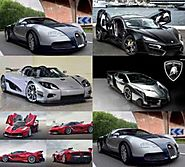The top five most expensive cars