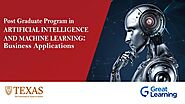 PGP AI and Machine Learning Online Certification Course by UT Austin | Great Learning