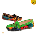 Patent Leather Loafers for Women CW300568 - cwmalls.com