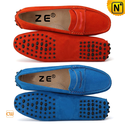 Suede Moccasin Driving Shoes for Women CW314014