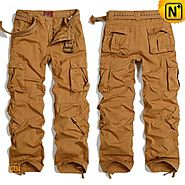 CWMALLS Mens Workout Cargo Pants CW100015