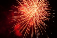 When does a fireworks explosion become negligence under California law?