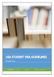 Usa student visa guideline for international studies