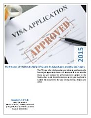 The process of tn (treaty nafta) visa and its advantages and disadvantages