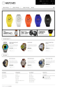 Watches Prestashop Template for e-commerce websites