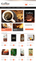 Coffee Online Store Prestashop Template for E-shops