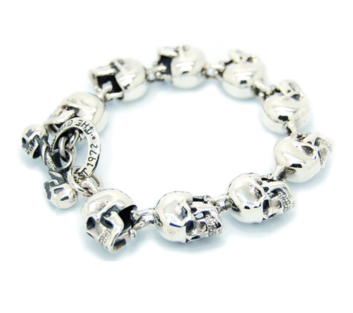 Headline for Top Rated Stainless Steel Skull Head Bracelets 2015