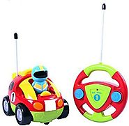 Cartoon R/C Race Car Radio Control Car (Ages 3 and Up)