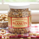 Bertie County Blister Fried Peanuts - 30 oz Jar