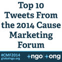 Top 10 Tweets From the 2014 Cause Marketing Forum