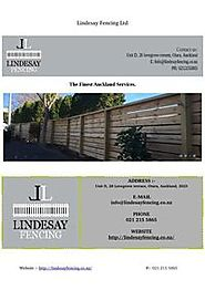 Timber Fencing in Auckland