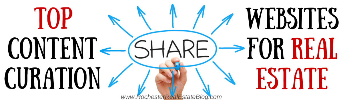 Headline for Top Content Curation Websites for Real Estate