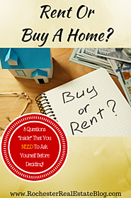 Should I Continue To Rent Or Buy A Home?