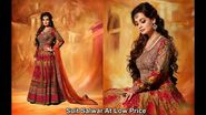 Alluring Patterns of Embroidered Designer Salwar Suits