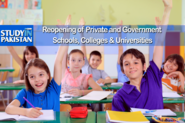 Pakistani Education News School, Colleges, Scholarship Result Admission Jobs